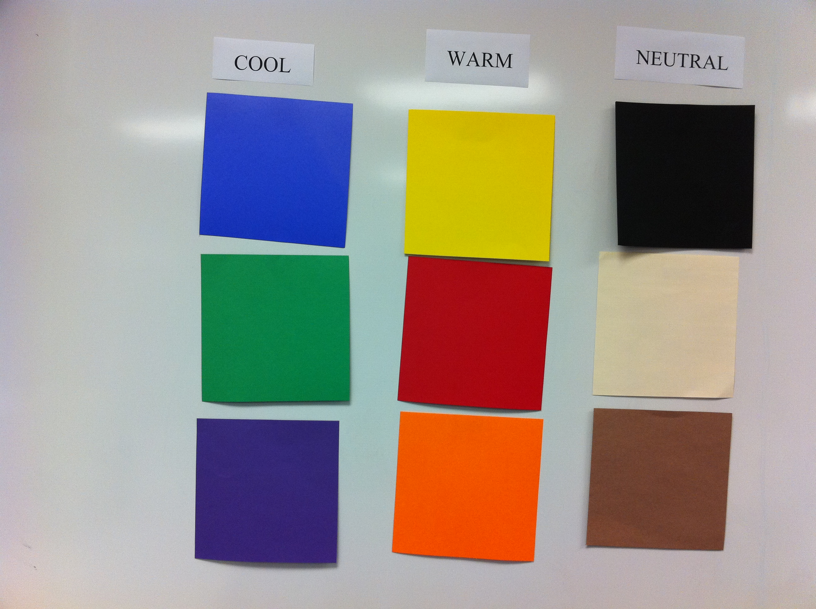 Color sort game the art of ed for Cool neutral paint colors