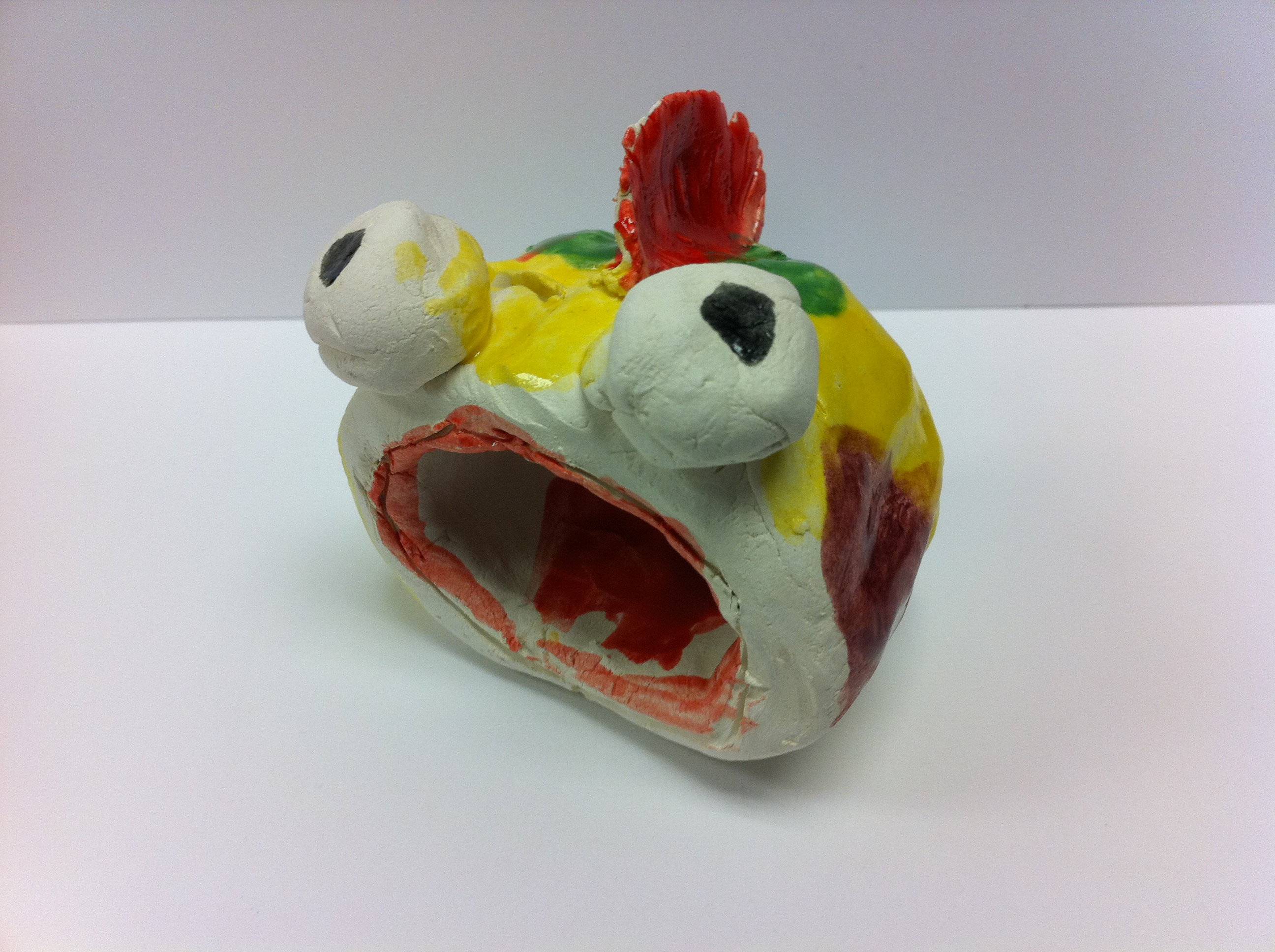 What would you do with a pinch pot the art of ed for Clay pot fish