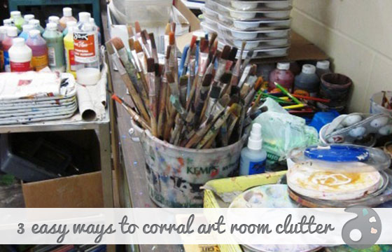 3-Easy-Wasy-to-Corral-Art-Room-Clutter