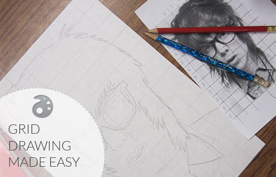 Setting Up A Successful Grid Drawing The Art Of Ed