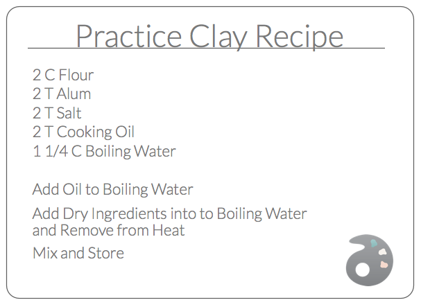 a recipe to make practice clay and other diy clay options the art