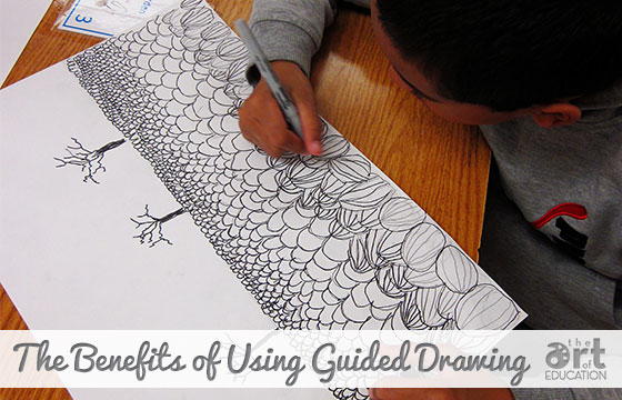 Using Guided Drawing