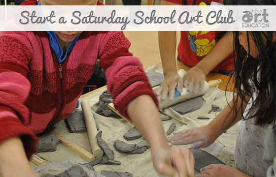 Trade in Your Art Club for Saturday School!