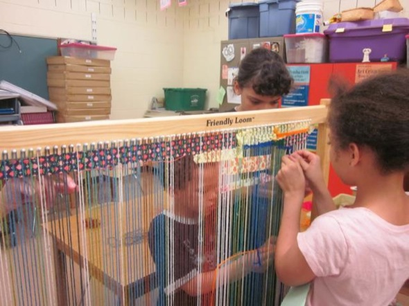 The Friendly Loom A Chance For Collaborative Art The