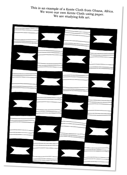 kente coloring pages - photo#4