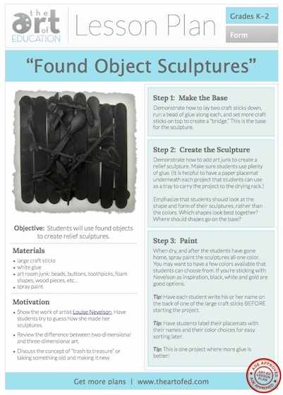 Found Object Sculptures