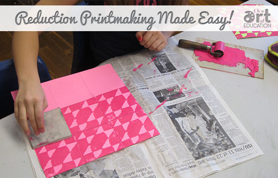 The Basics Of The Reduction Printmaking Process The Art Of