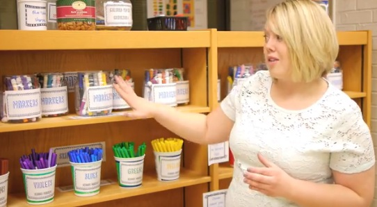 Video: Fantastic (and Free) Art Room Storage Solutions