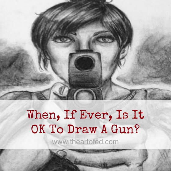 74 School Shootings Since Newtown: When, If Ever, Is It OK To Draw A Gun?