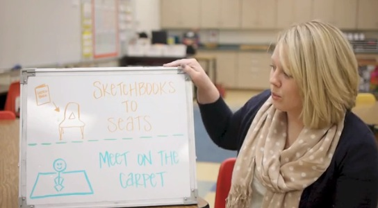 Transform the Beginning of Your Class Period With a Simple Whiteboard