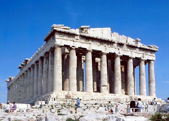 parthenon one of the greatest ancient building that have survived The parthenon is considered the high point of greek doric architecture  and is usually the one most modern people like best  pairs in three small buildings .