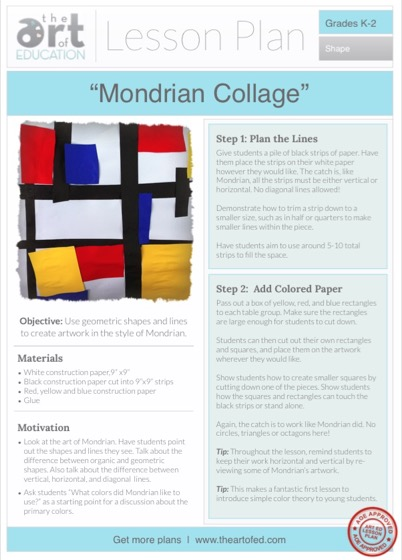 paper collage lesson plan For this project, you will be using torn paper to create a collage you can  use virtually any kind of paper you can find • magazines, newspapers, junk.