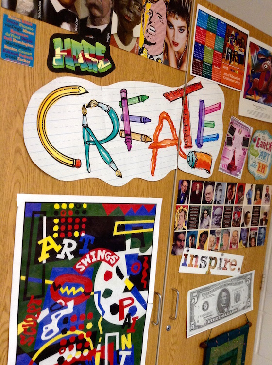 How Classroom Decor Affects Students : Does the decor in your art room affect students