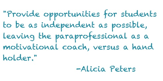 Quote Alicia Peters