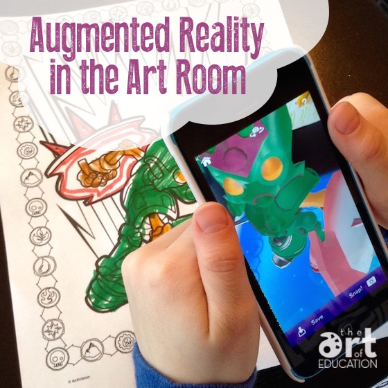 Augmented Reality Can be a Reality in Your Art Classroom - The Art of Ed