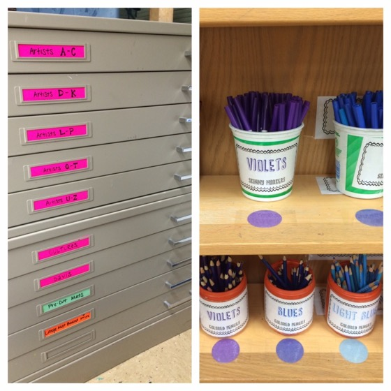 10 storage hacks for the art room the art of ed