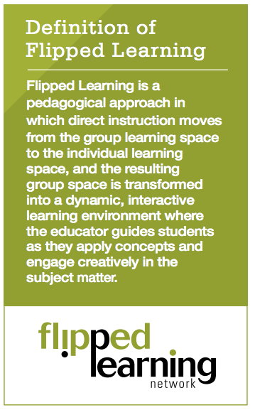 flipped teaching definition