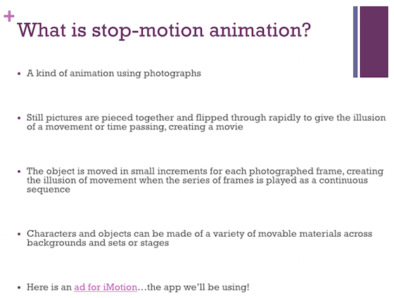 A Complete Guide for Stop-Motion Animation in the Art Room - The Art ...