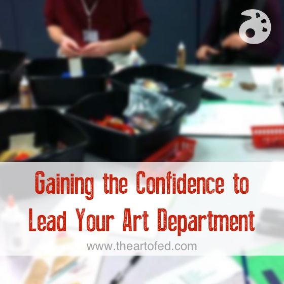 gaining confidence to lead