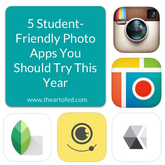 student friendly photo apps