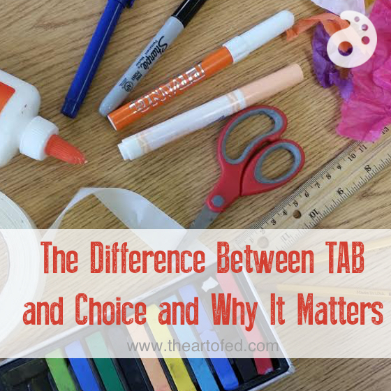 tab and choice