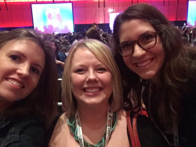 Members of the AOE team at the NAEA 2015 Conference.
