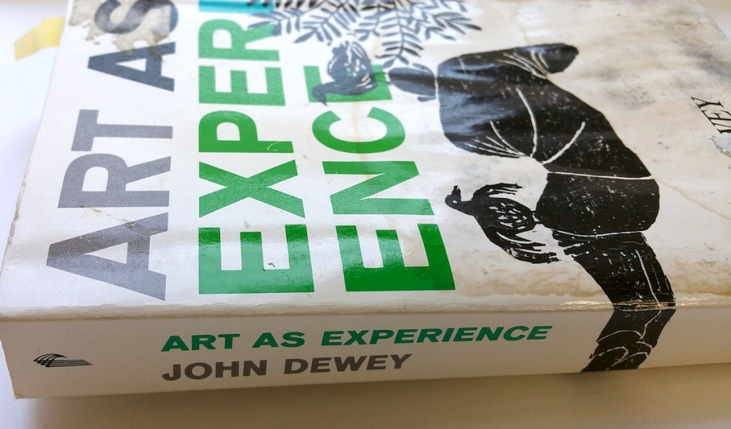 """photo of """"Art As Experience"""""""