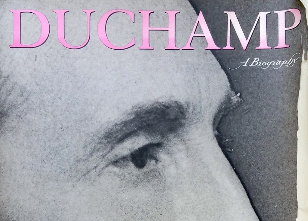 """Part of the cover of """"Duchamp"""""""