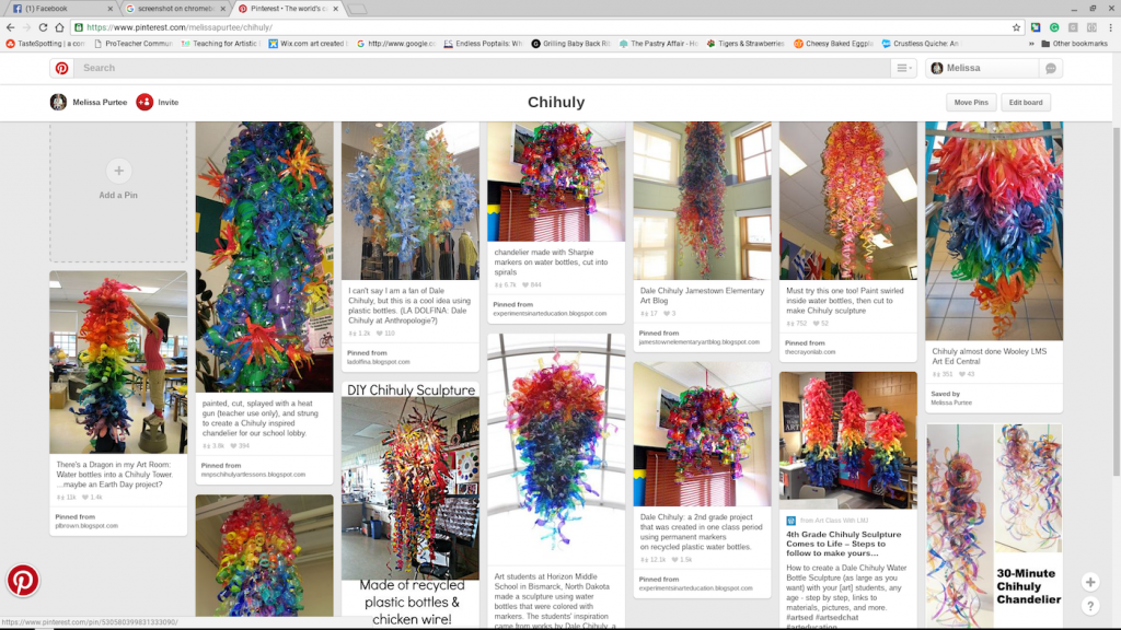 Chihuly sculptures on Pinterest