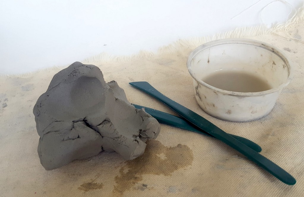 clay and supplies