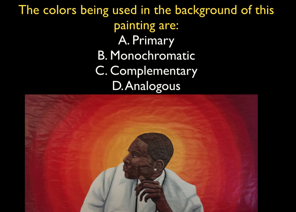Question of the day about color scheme