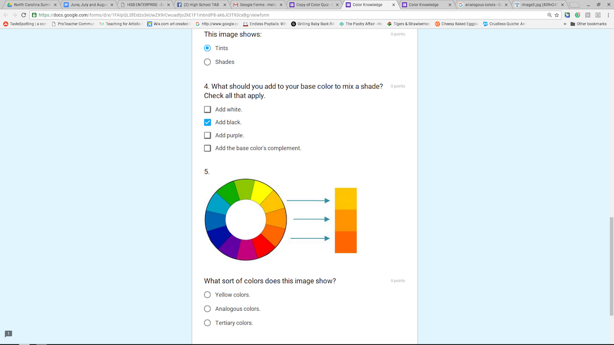 How to use google forms to make your life easier the art of ed ccuart Choice Image