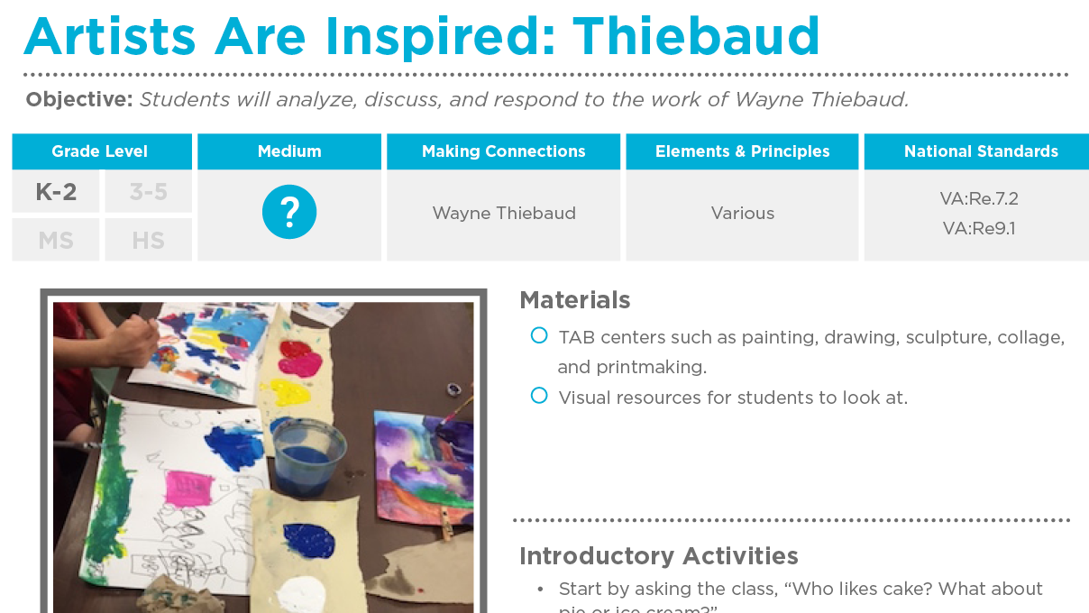 Lesson Plans The Art of Ed – Free Lesson Plan Sites