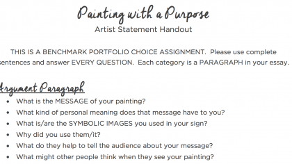 The 7 Key Components of Powerful Artist Statements
