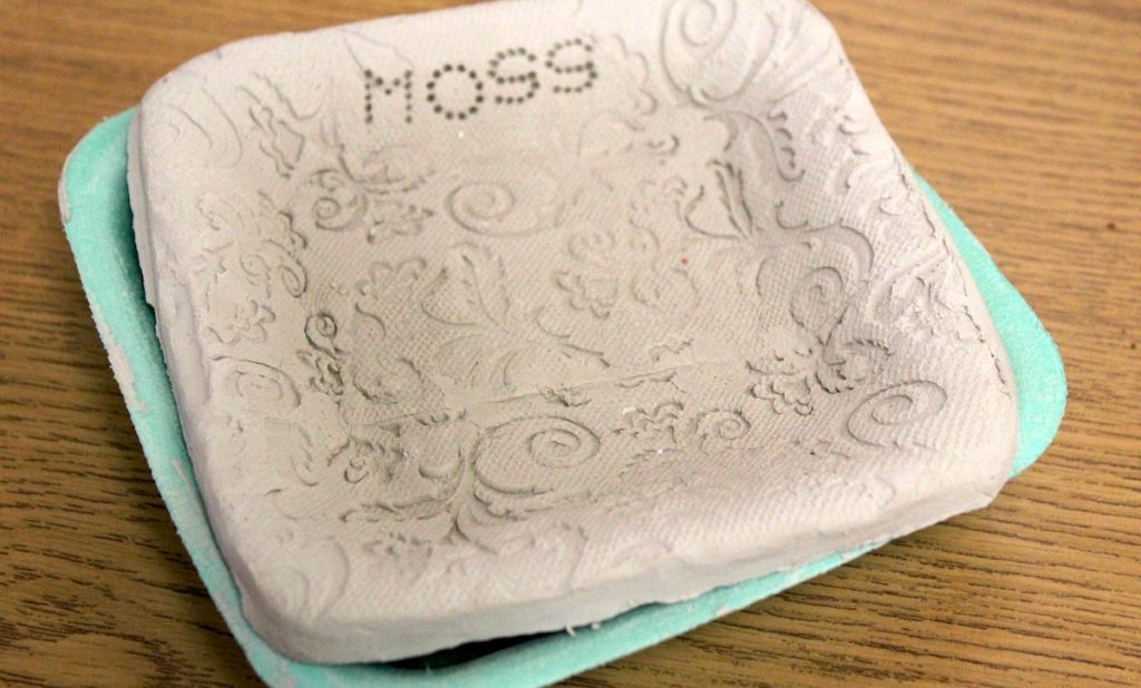 clay piece popped out of mold