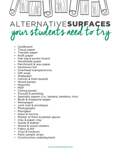 https://theartofeducation.edu/content/uploads/2017/03/Alternative-Surfaces-1.pdf