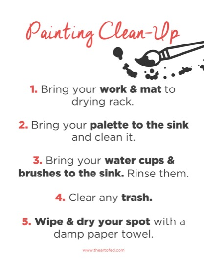 https://www.theartofed.com/content/uploads/2017/03/Painting-Clean-Up-1-1.pdf
