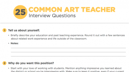 The Art Teacher's Ultimate Guide to Getting Hired