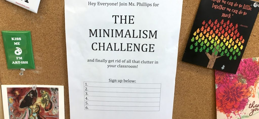 sign up sheet for challenge