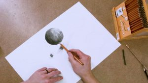 How to Teach Drawing Using Charcoal