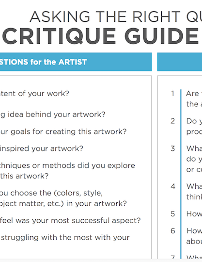 critique guide Critical thinking is the objective analysis of facts to form a judgment  reflection, reasoning, or communication, as a guide to belief and action.