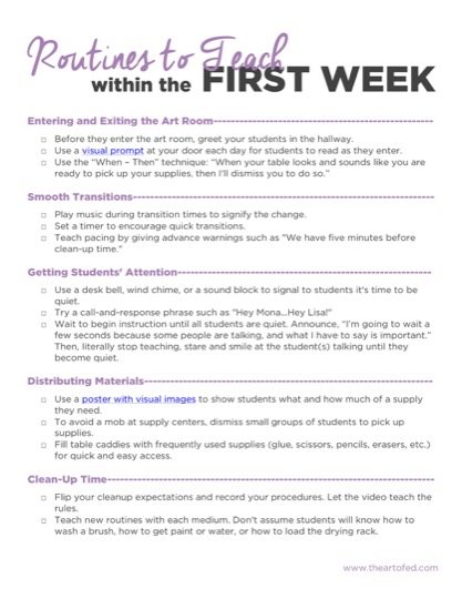 https://www.theartofed.com/content/uploads/2017/06/First-Week-Routines.pdf