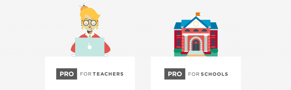pro for teachers and pro for schools