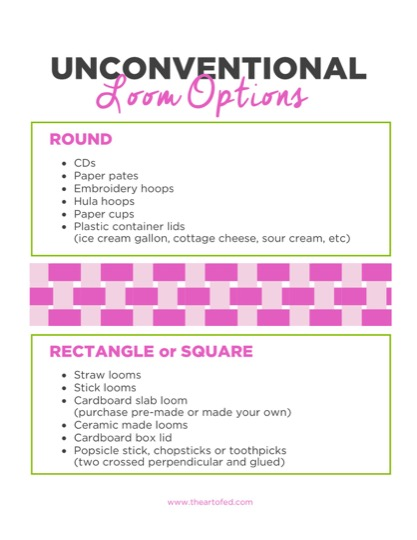 https://www.theartofed.com/content/uploads/2017/06/Unconventional-Loom-Options-1.pdf