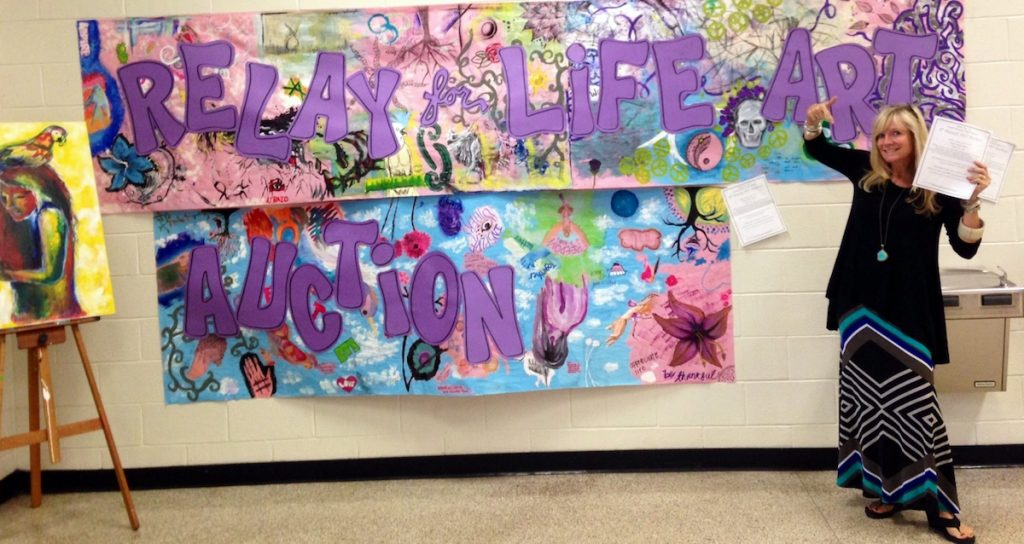 relay for life auction