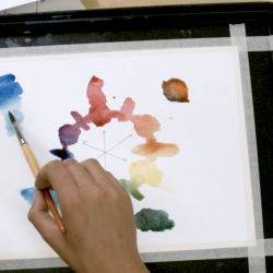 Color Theory through Watercolor