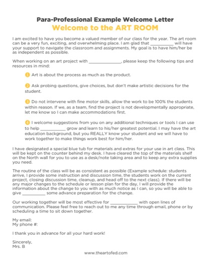 https://uploads.theartofeducation.edu/2017/12/Para-Professional-Welcome-Letter-2.pdf