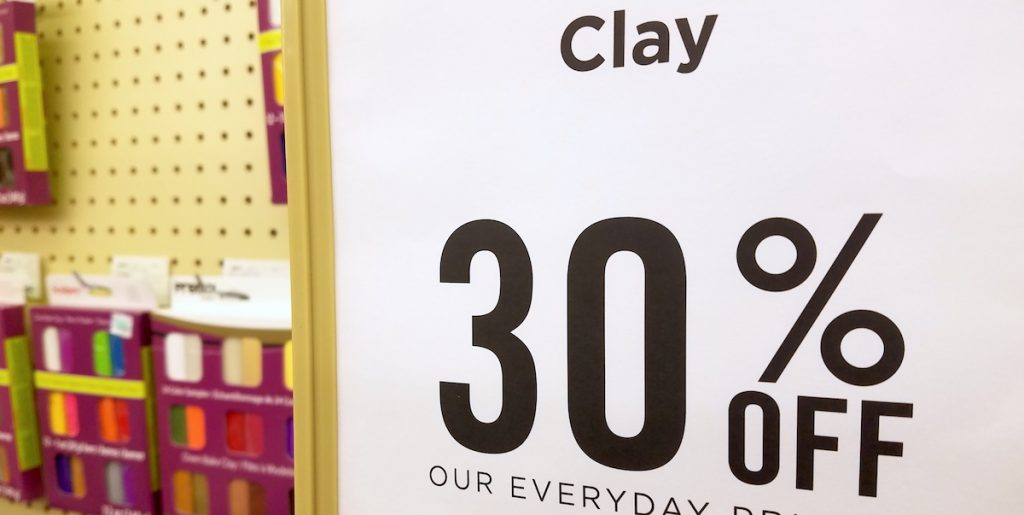 clay at the store