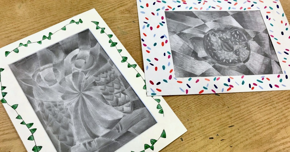 student shattered value drawings