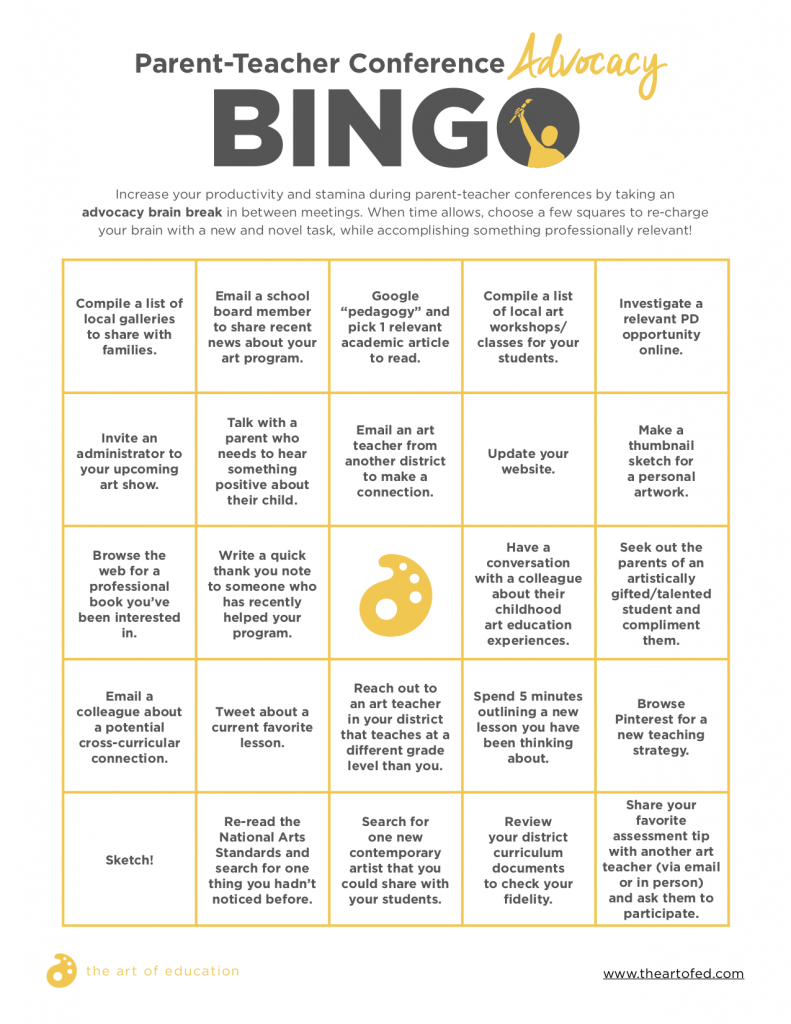 bingo brain break